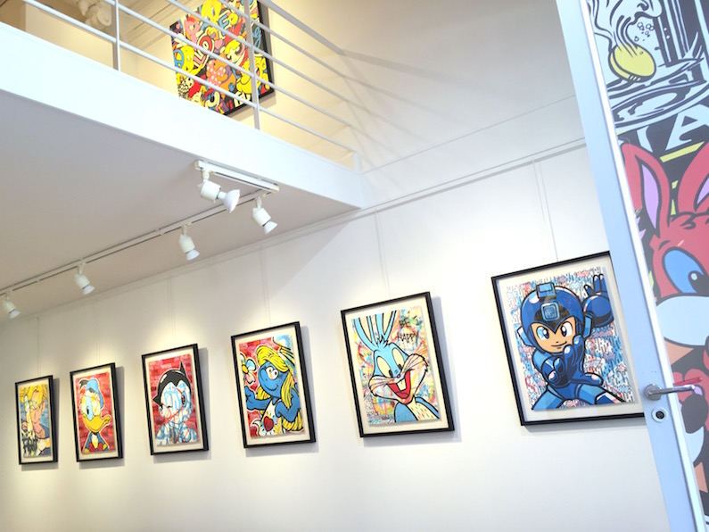 Exposition-Biarritz-2016-Artiste-Speedy-Graphito-Oeuvre-Peinture-Collection-Paris-France